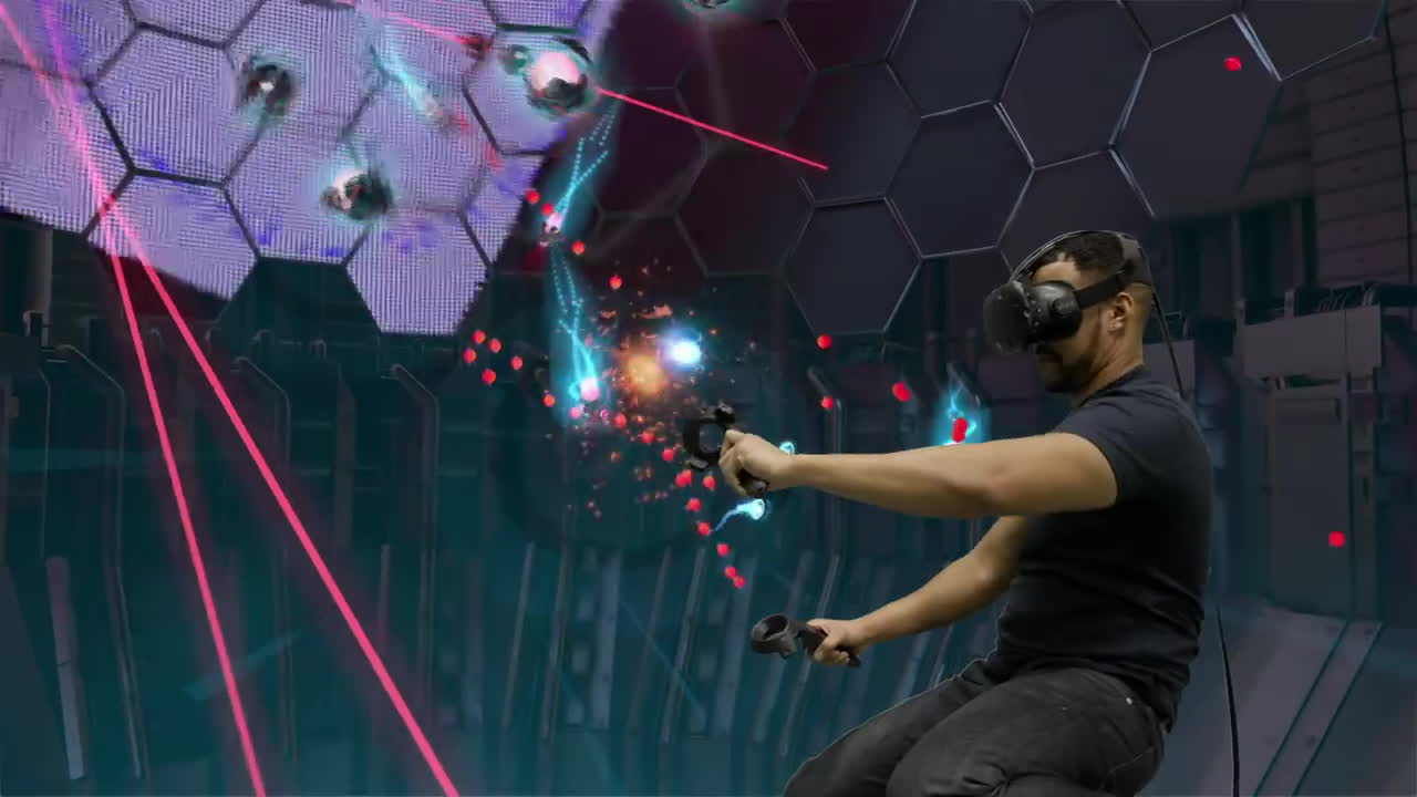 Virtual Reality - SteamVR featuring the HTC Vive GIFs