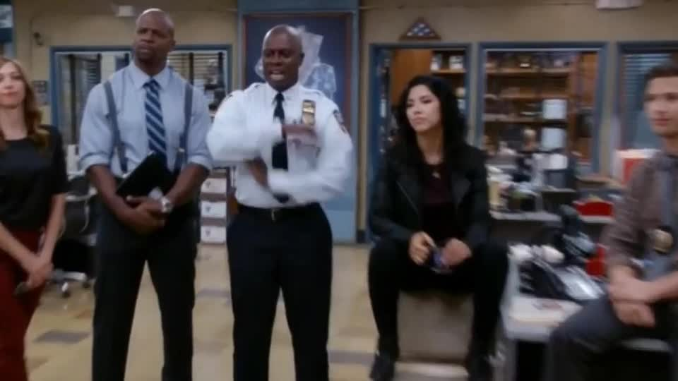 99, I, awesome, brooklyn, captain, celebrate, damn, excited, hot, it, knew, lol, nine, perfect, success, victory, win, winner, Brooklyn Nine Nine - Hot damn GIFs
