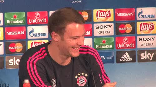 Watch this lol GIF on Gfycat. Discover more celebs, manuel neuer GIFs on Gfycat