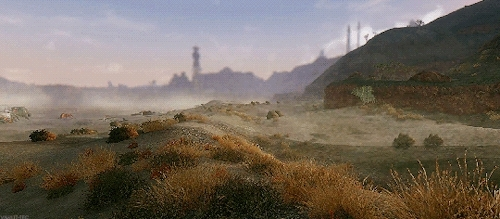 fallout, fallout nv, fnv, gifs, scenery, Prepare for Fallout GIFs
