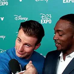 Watch and share Anthony Mackie GIFs and Chris Evans GIFs on Gfycat