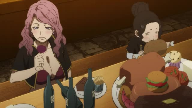 Watch this dinner GIF by Funimation (@funimation) on Gfycat. Discover more action, anime, black clover, black clover ep. 8, black clover episode 8, dinner, funimation, funny GIFs on Gfycat