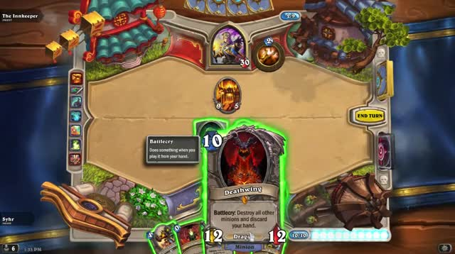 Watch New Deathwing entrance for Hearthstone. GIF on Gfycat. Discover more related GIFs on Gfycat