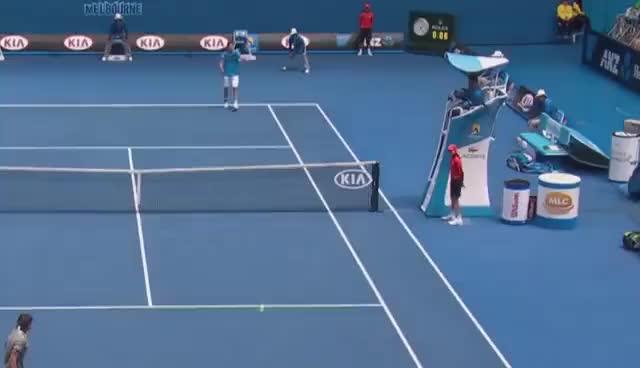 Watch Australian Open Ballboy GIF GIF on Gfycat. Discover more Florian Mayer, australian open ball boy, australian open ballboy, david ferrer GIFs on Gfycat