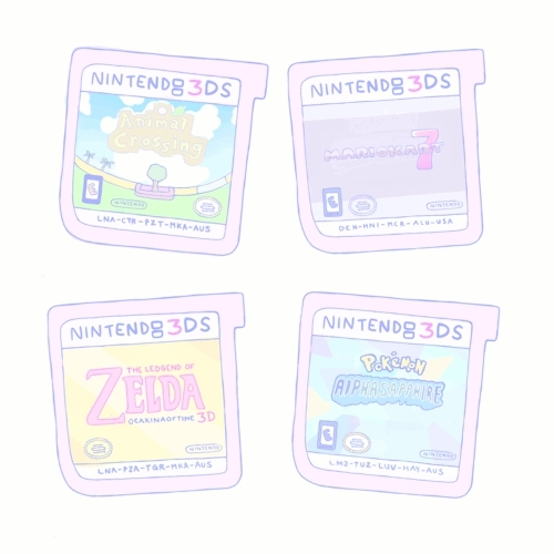 gif, nintendo, nintendo 3ds, pastel, transparent, video games, Nintendo 3DS GIFs