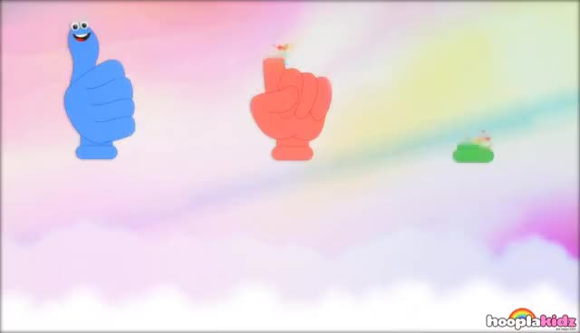 Watch and share Where Is Thumbkin | Nursery Rhymes | Popular Nursery Rhymes By Hooplakidz GIFs on Gfycat