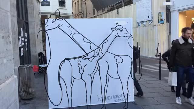 Sculpture in Paris