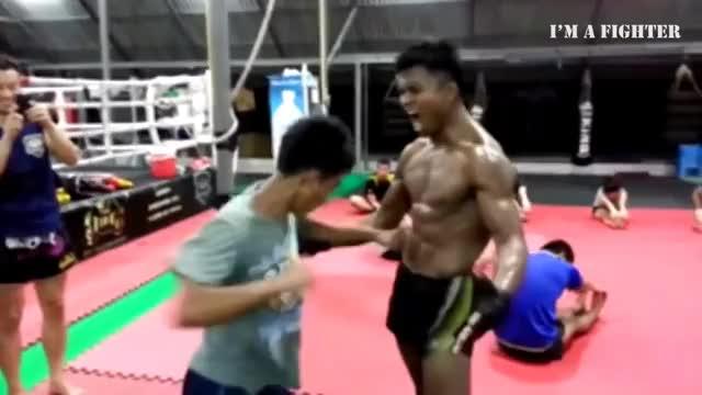 Watch and share Muay Thai Motivation - Crazy Training Buakaw GIFs on Gfycat