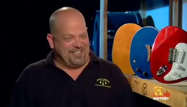 Watch and share Pawn Stars GIFs on Gfycat