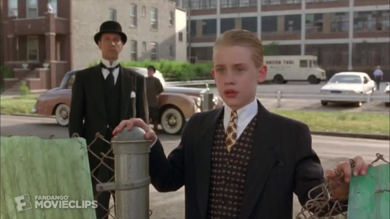 celebs, macaulay culkin, make it rain, money, omar, Richie Rich (4/7) Movie CLIP - Baseball Bet (1994) HD GIFs