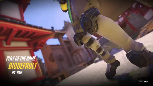 Overwatch ana play of the game video