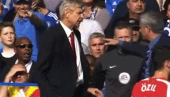 Watch and share Wenger Mourinho GIFs on Gfycat