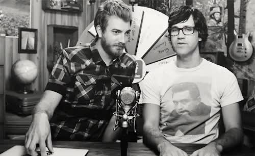 Watch and share Rhett Stare GIFs and Link Stare GIFs on Gfycat