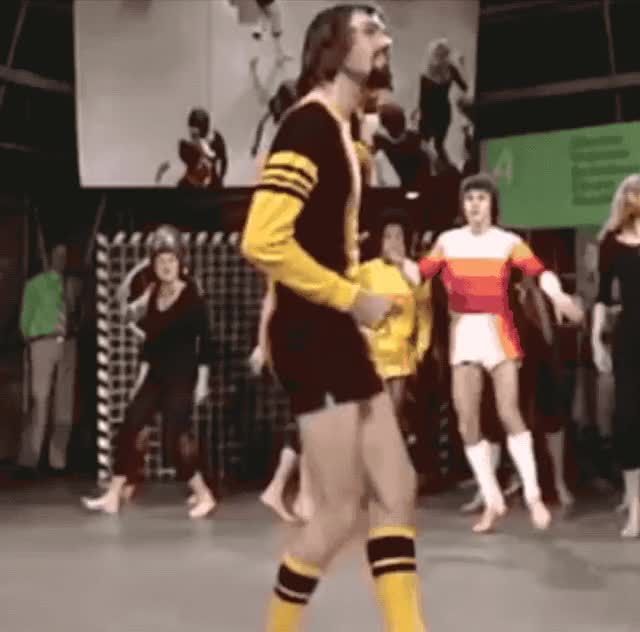 Watch and share Soccer Attire GIFs and Fashion Show GIFs by The Kitsch Bitsch on Gfycat