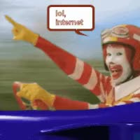 Watch Ronald McDonald Rides Again GIF on Gfycat. Discover more related GIFs on Gfycat
