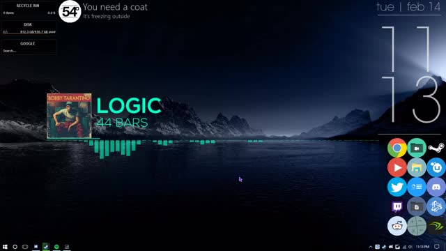 Watch and share Rainmeter GIFs and Logicc GIFs by simplyjettadia on Gfycat