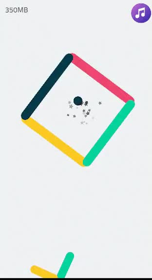 Watch and share Color Switch Game Gif GIFs on Gfycat