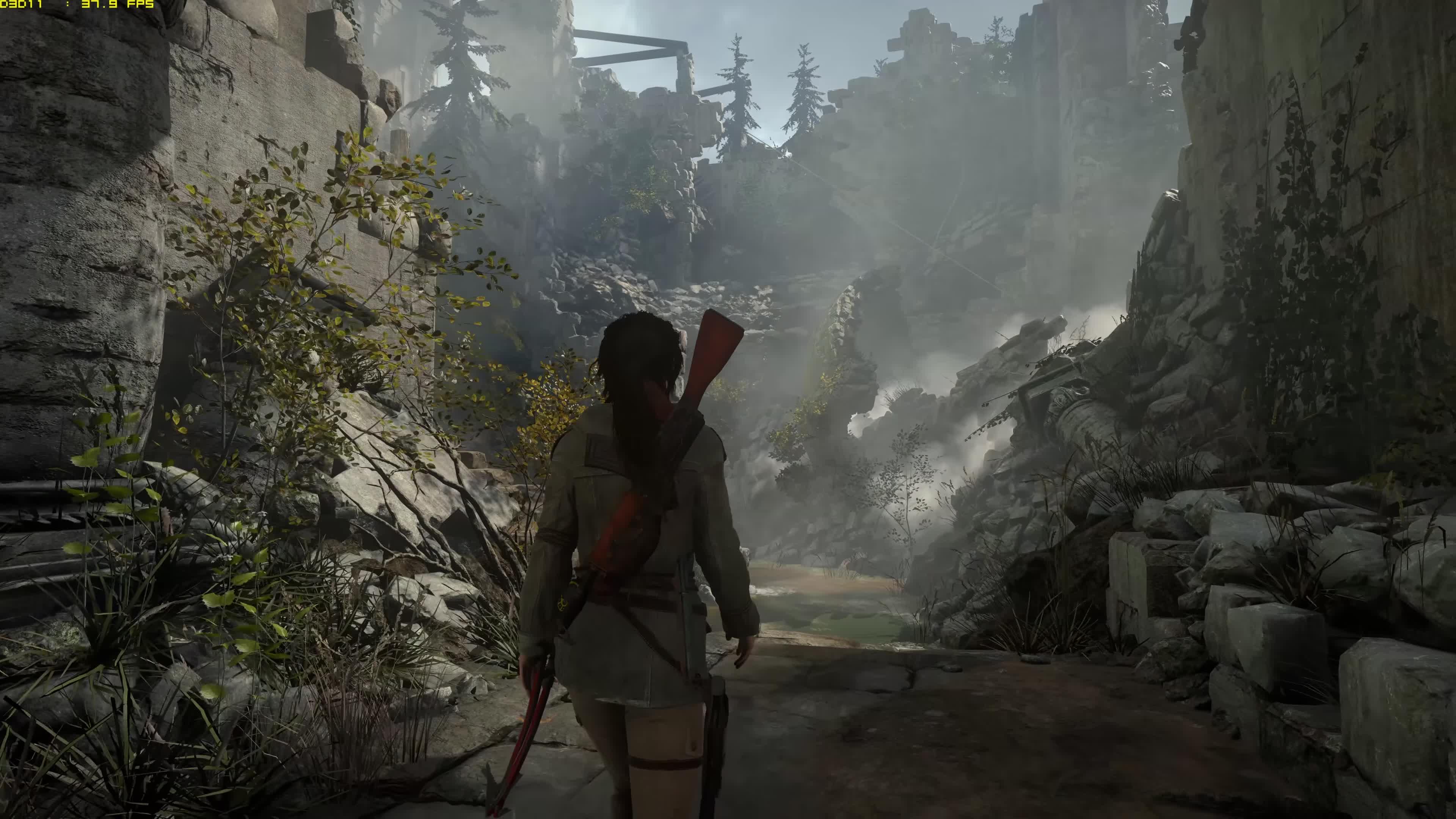 Rise Of The Tomb Raider 8k 4320p60 Gameplay Titan X Pascal 4 Way