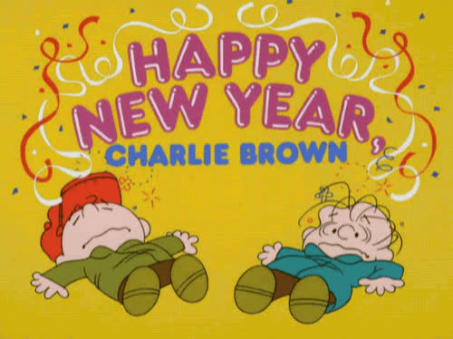 charlie brown, happy new year, holiday, new year, new years, Happy New Year Charlie Brown GIFs