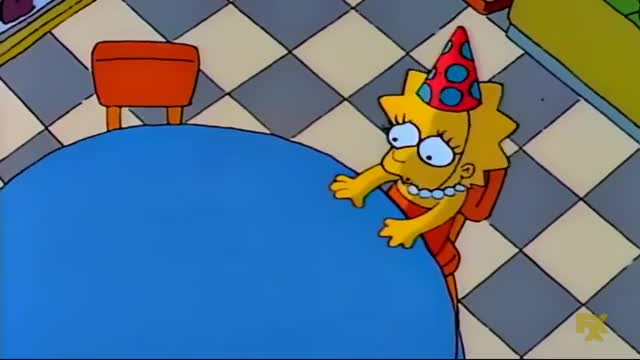 Watch and share Lisa Simpson GIFs and Sad Birthday GIFs by Christmasgifs on Gfycat
