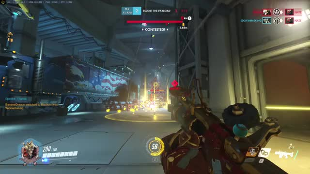 Watch and share When Kamikaze Junkrat Works, It Works Beautifully. GIFs on Gfycat