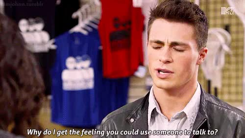 Watch That's better GIF on Gfycat. Discover more colton haynes GIFs on Gfycat