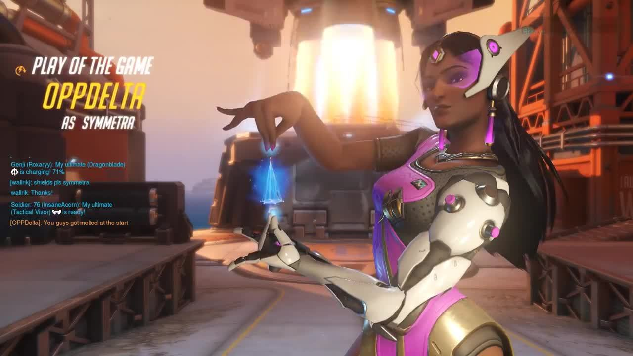 Symmetra Play of the Game
