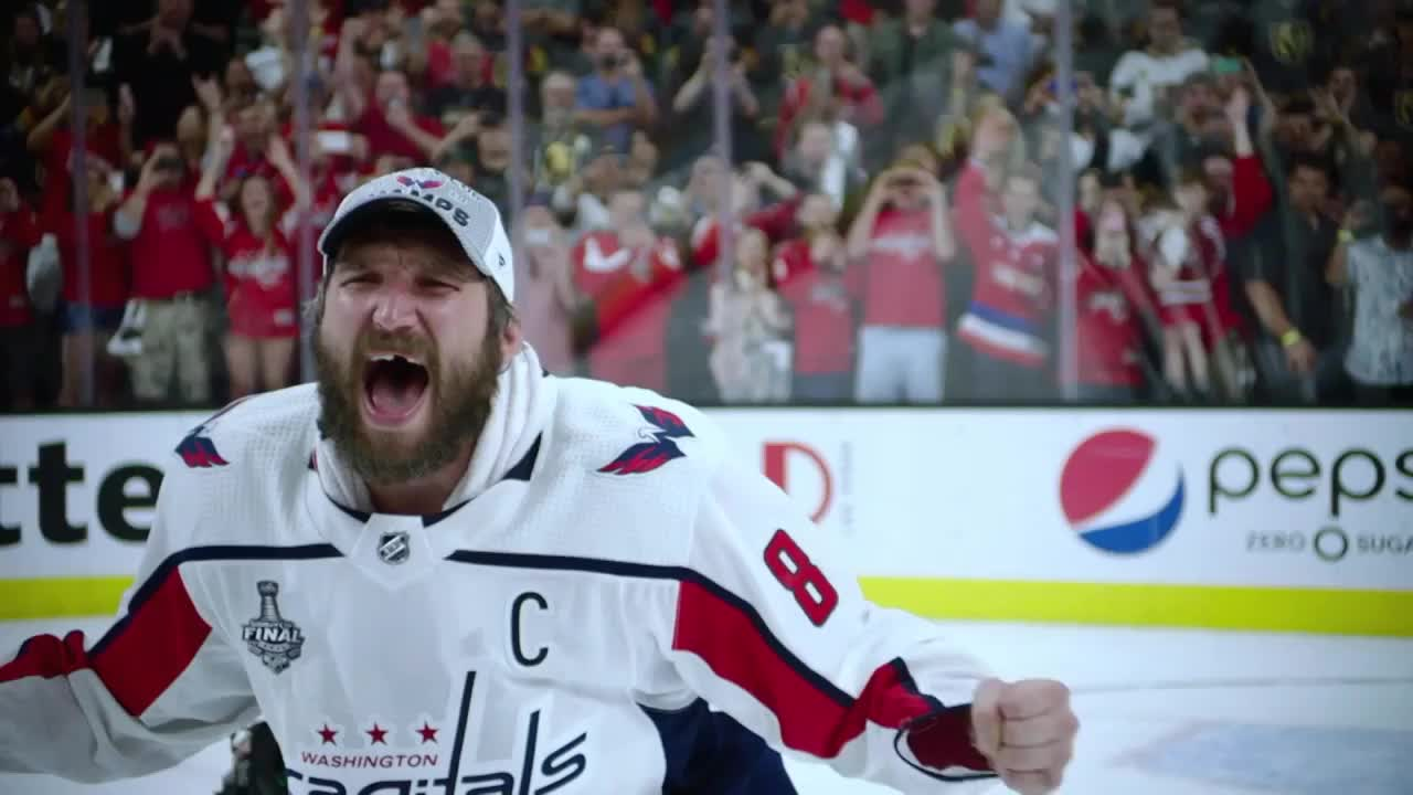 hockey, Alex Ovechkin raises the Stanley Cup GIFs