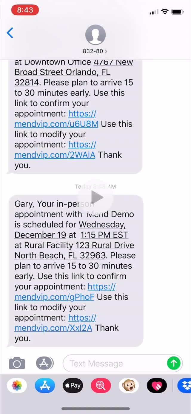 Watch Mend Appointment Reminders GIF on Gfycat. Discover more related GIFs on Gfycat