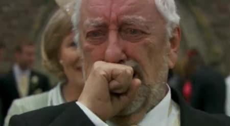 gfycatdepot, nba, sad, Emotional man saying good bye [Doctor Who Wilfred Mott farewell so long cya Donna Noble Grandfather companion lottery ticket wedding (reddit) GIFs