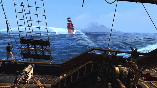 Assassin's Creed IV Black Flag - Epic NO HUD Gameplay (Naval Combat