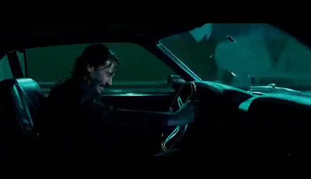 Watch and share John Wick: Chapter 2 (2017 Movie) Official Clip - 'Car Chase' GIFs on Gfycat