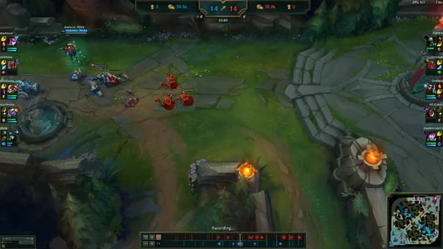 Watch and share Vayne 1v3 GIFs by tharivern on Gfycat