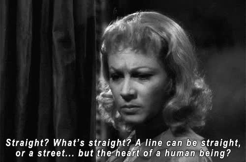 Watch and share Black And White GIFs and Blanche Dubois GIFs on Gfycat
