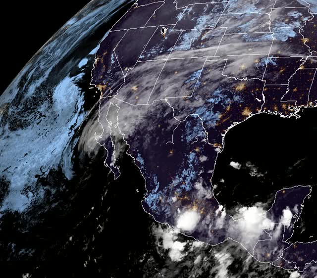 Watch and share Tropical Storm Sergio October 12, 2018 GIFs by The Watchers on Gfycat