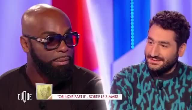 "Watch and share Kaaris : L'interview ""j'm'en Bats Les Couilles"" Avec Mouloud Achour GIFs on Gfycat"