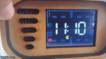 Watch Pac-Man Arduino alarm clock by TechKiwiGadgets GIF by 13thDiablo (@13thdiablo) on Gfycat. Discover more Arduino, Pac-Man, retrogaming GIFs on Gfycat