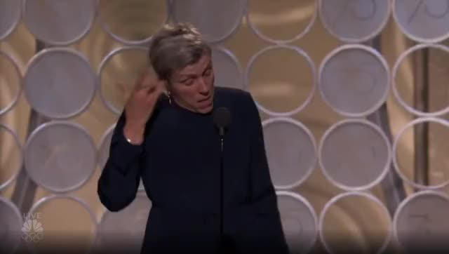 Watch this golden globes GIF by GIF Reactions (@visualecho) on Gfycat. Discover more Frances McDormand, Golden Globes, GoldenGlobes GIFs on Gfycat