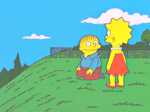 Watch and share Funniest Simpsons Gifs Ralph Roll GIFs on Gfycat