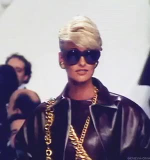 Watch and share Linda Evangelista GIFs and Chanel GIFs on Gfycat