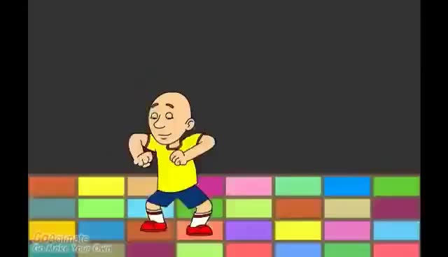 Watch and share Caillou Dance The Planit Song From Blue's Clues GIFs on Gfycat