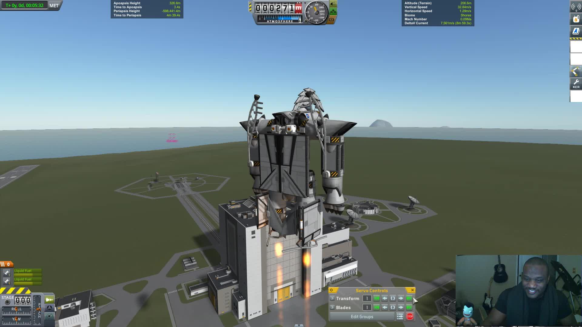 infernal robotic, jatwaa, kerbal space program, macross, modded, robotech, Kerbal Space Program Robotech GIFs