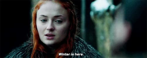 Watch this game of thrones GIF on Gfycat. Discover more game of thrones, got, hbo, sophie turner, winter is coming, winter is here GIFs on Gfycat