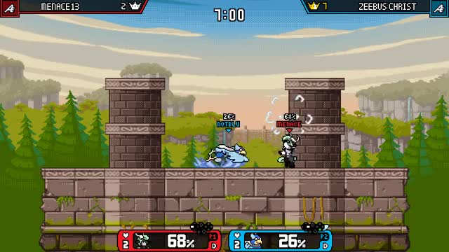 Watch and share Rivals Of Aether GIFs and Wrastor GIFs by Menace13 on Gfycat