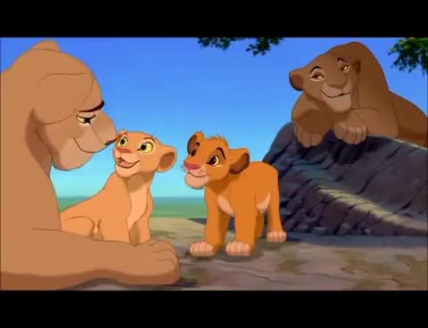 Watch and share The Lion King - Bath Scene GIFs on Gfycat