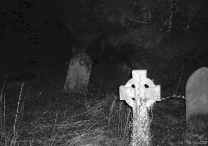 Watch and share Scary Ghost In A Cemetery. GIFs on Gfycat