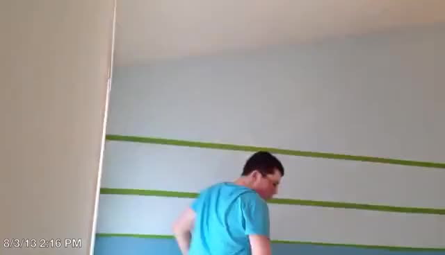 Watch and share Painting Accent Wall GIFs on Gfycat