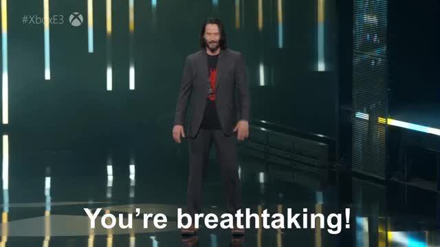 Watch and share Cyberpunk 2077 GIFs and Keanu Reeves GIFs on Gfycat