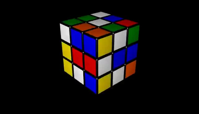 Watch and share Animation: Rubik's Cube GIFs on Gfycat