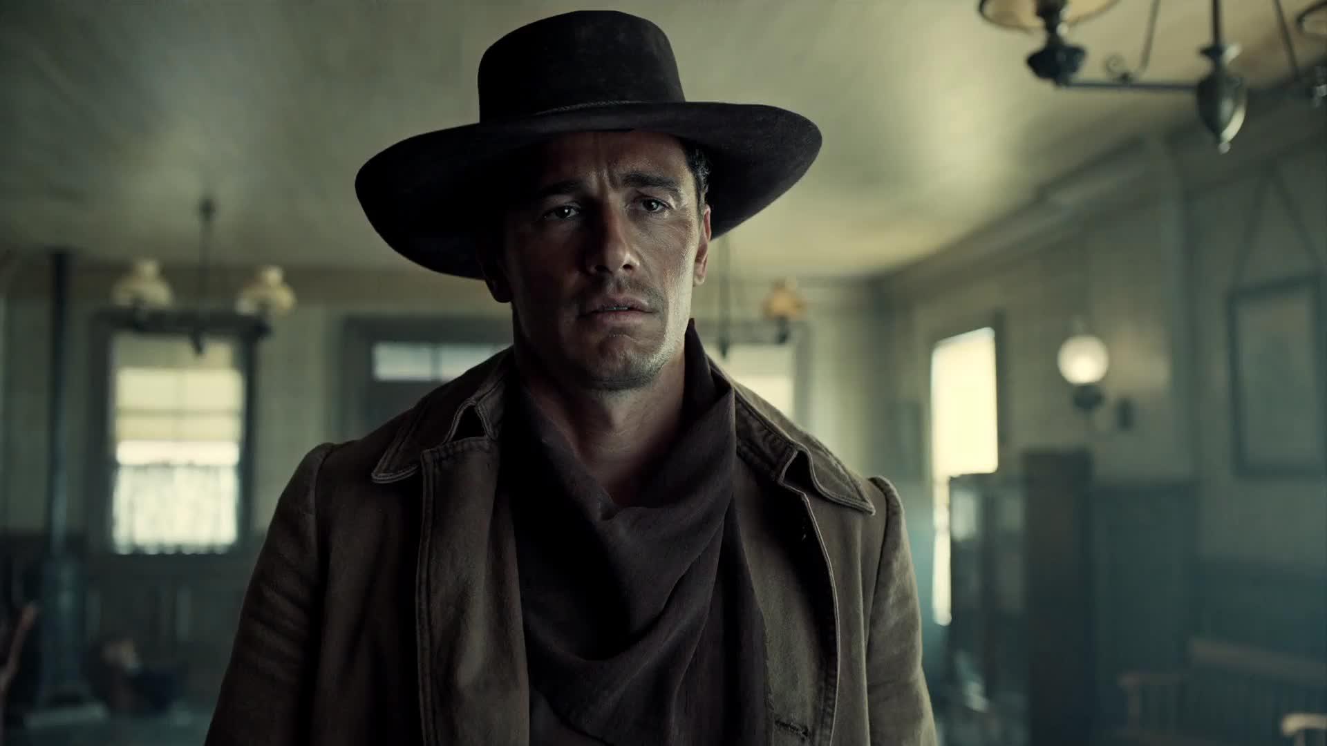 James Franco, sigh, the ballad of buster scruggs, cowboy sigh GIFs